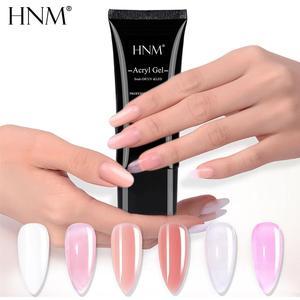 HNM 30ML UV Poly Extension Nail Gel Builder Nail Acryl DIY Acrylgel Nail Forms Sticker Pen Brush For Nails Polish Art