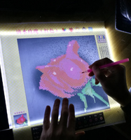 Light Box Diamond Painting Dimmable Ultra Thin A4 LED Pad Light Tablet USB Diamond Embroidery A4