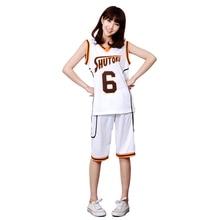 купить Free Shipping Anime Kuroko No Basuke Cosplay Takao Kazunari Shutoku NO.10 Basketball Uniforms Fancy Dress Sportswear недорого