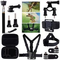 7 In 1 GoPro Go Pro Accessories Set For Gopro Hero 4 3 3 2 Sjcam