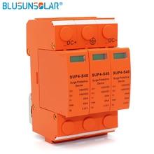 100 шт./лот высокая производительность 3 P DC 600 В SUP4-S40 SPD 20/40KA DC Стабилизатор напряжения разрядника защитные устройства