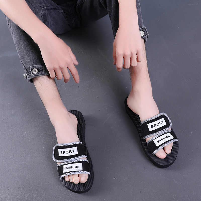 AIYUQI Kadın sandalet düz rahat 2019 yeni kadın spor ayakkabı ayakkabı kadın sandalet düz rahat yaz plaj kızlar terlik