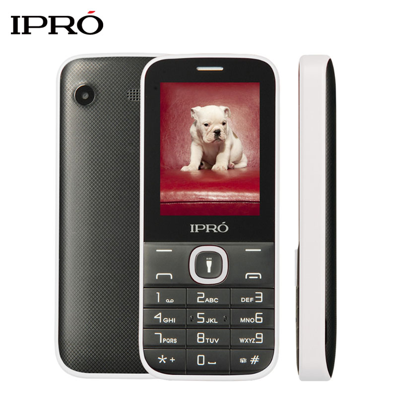 Original IPRO I324F 2 4 Inch Dual SIM GSM Unlock Mobile Phone With English Portuguese Spanish