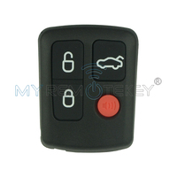 Remtekey Remote Fob Key 4 Button For Ford Key 434mhz No Logo BA BF Brand New