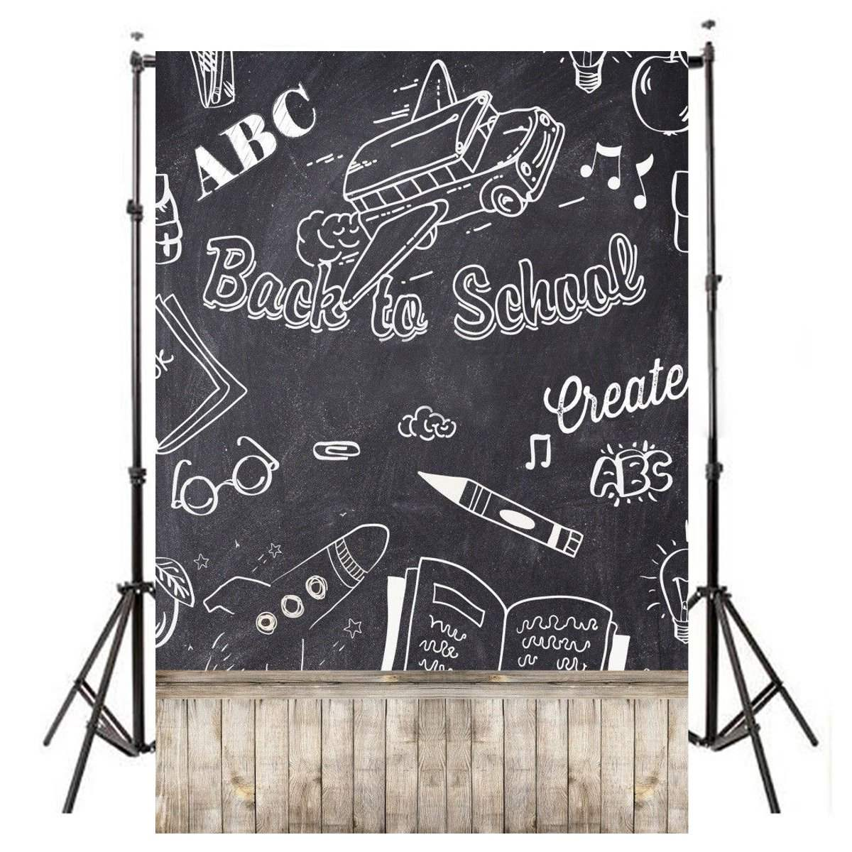 150X90cm Back To School Chalkboard Photography Backgrounds Vinyl Studio Photo Backdrops 2017 New Arrival