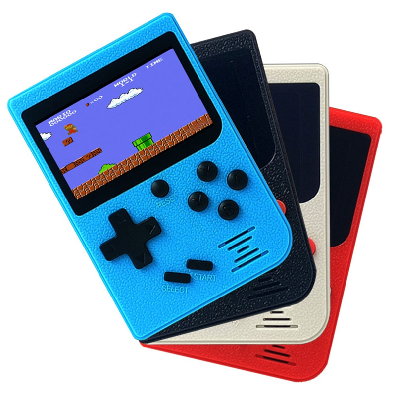New Mini Handheld Game Console Computer Game Smart Children's Toy Built-in 268/129 Game 2.0 / 2.4 Lcd 8 Bit