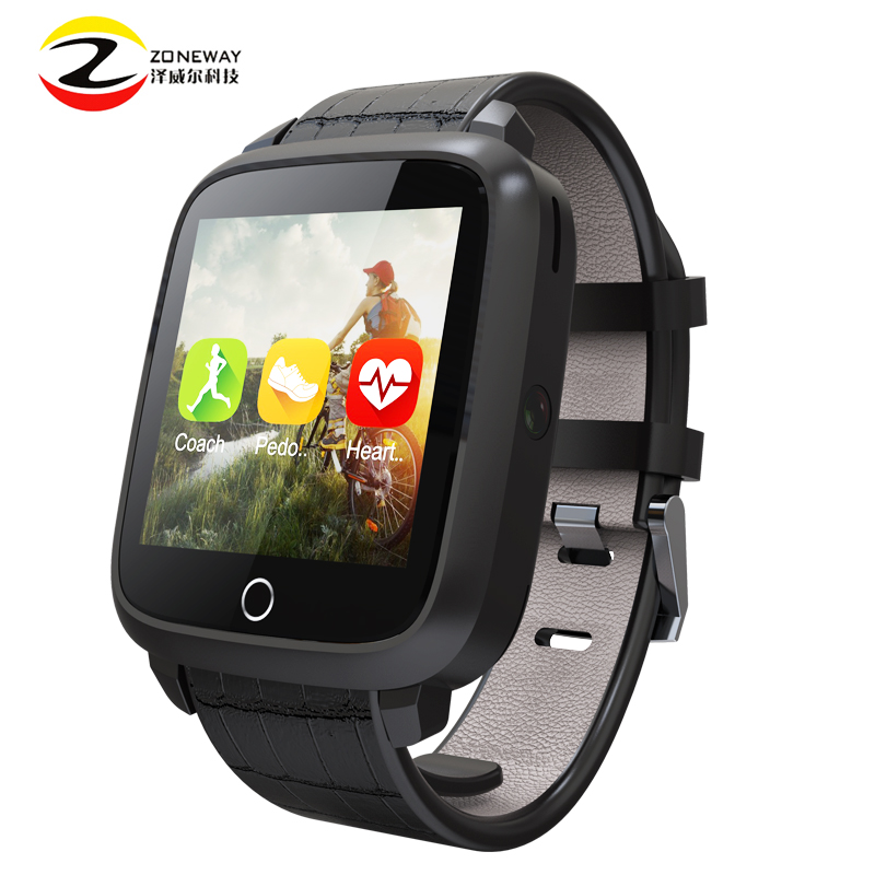 2017 Newest U11S Smart Watch MTK6580 Quad Core Android 5.1 Watch Support GPS Wifi Camera Heart Rate Monitor Watch Smartwatch