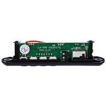High quality Wireless Audio Module Radio WMA MP3 Player Decoder Decoding Board Module USB Port TF Card Slot FM Remote Display
