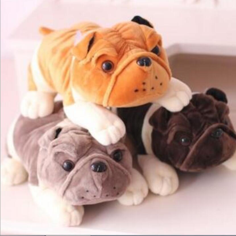 1 pz 20 cm bulldog shar pei Peluche, Bambola morbida, Super Qualità ...