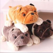 1pc 20cm bulldog shar pei dog Plush Toy ,Soft Doll ,Super Quality Low Price ,Best Gift For Kid,Hot Selling Baby Toy
