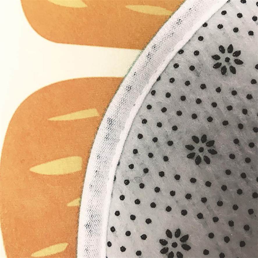 New Bathroom mat anti slip 1pc Creative Water Absorbent Pad Soft Carpet Living Room Bedroom anti slip Fruit football Carpet