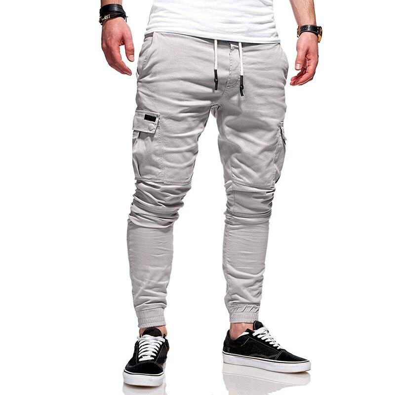 Europe and America plus large size cotton linen harem pants men 39 s jogging pants new men 39 s casual sports pants pants hip hop in Cargo Pants from Men 39 s Clothing