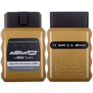Image 2 - Adblue Emulator For Benz OBD2 Emulator Adblue For BENZ Mercedes OBD2 Auto Diagnostic Tool OBD2 Heavy Duty Diesel Scan Tools