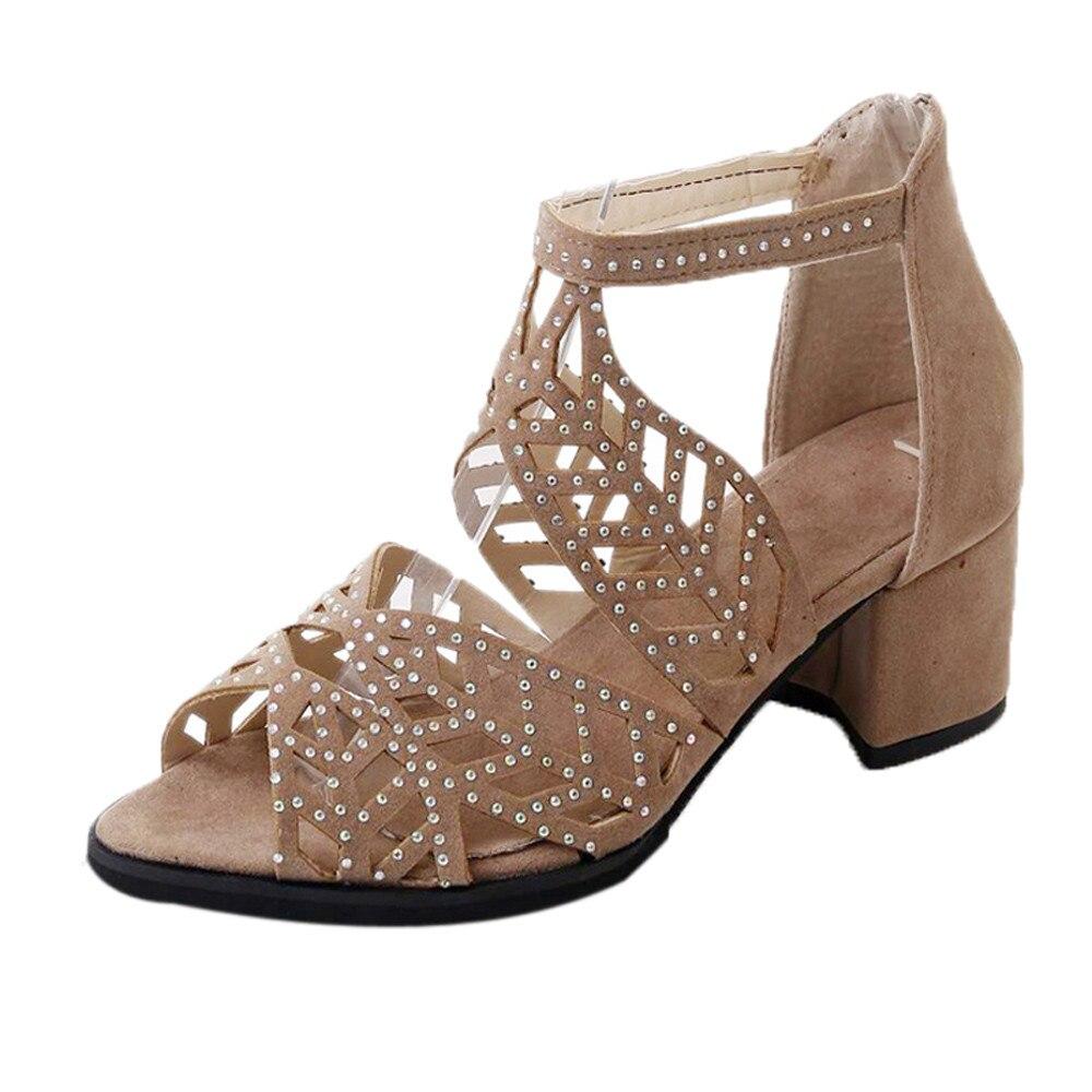 Vintage Summer Bohemian Women Sandals Ankle Strap Platform Wedges For Female Shoes High Heels Cover Heel Sandal