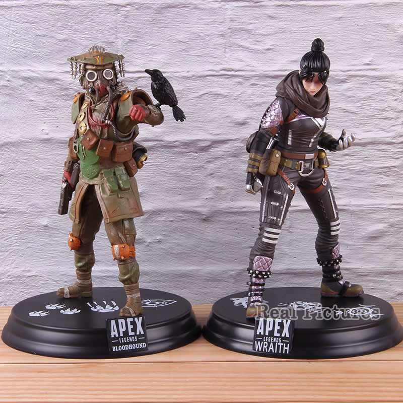 Hot Game <font><b>Apex</b></font> Legends Bloodhound / Wraith Statue Figure PVC Collectible Model <font><b>Toy</b></font> image