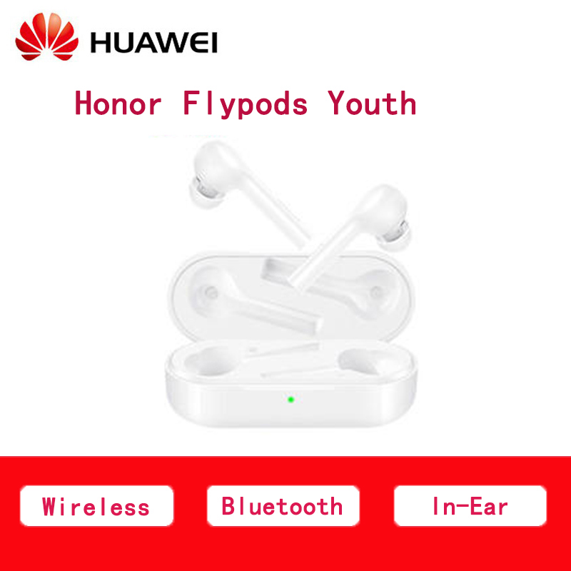 Professional Huawei Honor Flypods Youth Bluetooth Wireless Earphone  connection double-click control with Mic headset for iOS Professional Huawei Honor Flypods Youth Bluetooth Wireless Earphone  connection double-click control with Mic headset for iOS