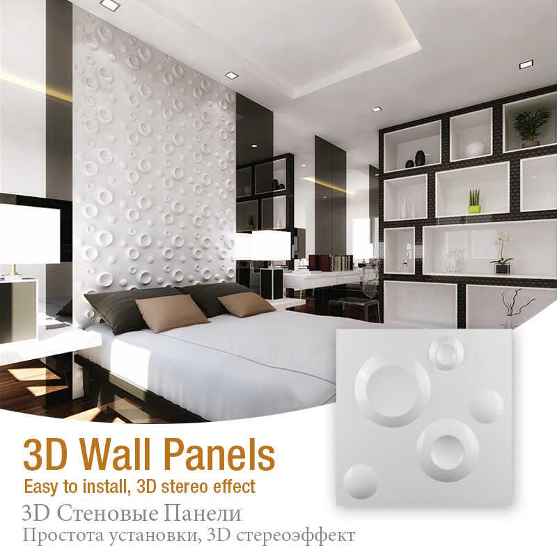 30X30 Cm 3D Tấm Ốp Tường Sao Hỏa Không Gian Khuôn 3D Nổi Tường Nhà Trang Trí Ba Chiều Ban PVC 3D Nhựa trang Trí Treo Tường Ban