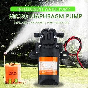 DC 12V Micro Diaphragm Pump High Pressure Misting Pump Booster Diaphragm Water Pump Automatic Switch 3.5L/min(China)