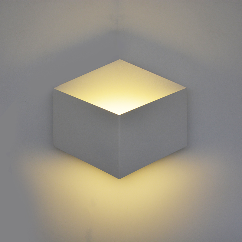 luces led decoracion modern simple creative wall light led bedroom Combinable Nordic lamp living room corridor hotel wall lamp