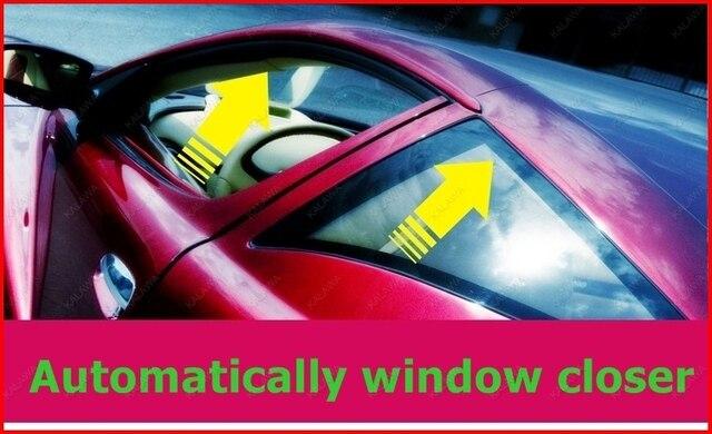 1 set Car Alarm Security System Window Closer Power Roll Up Closer Module / Car Alarm Module for 4 windows D-620-4 FFF freeship