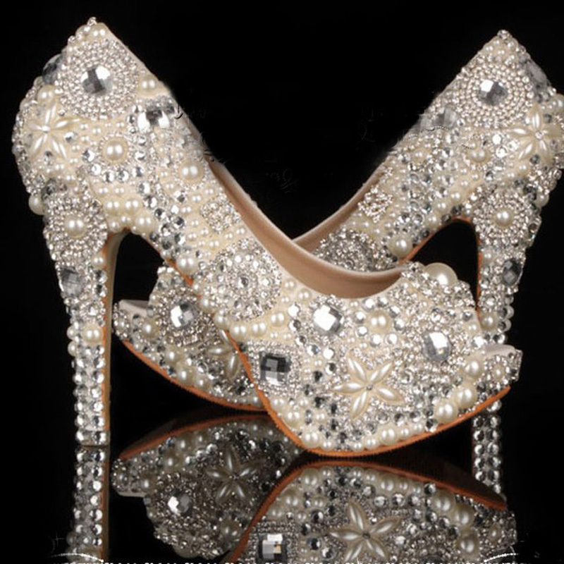 I Do Wedding Shoes Rhinestone