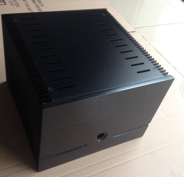 DIY case 245*180*257mm Height 180mm black Full aluminum Power amplifier CASE/Class A desktop amplifier box/AMP case Enclosure