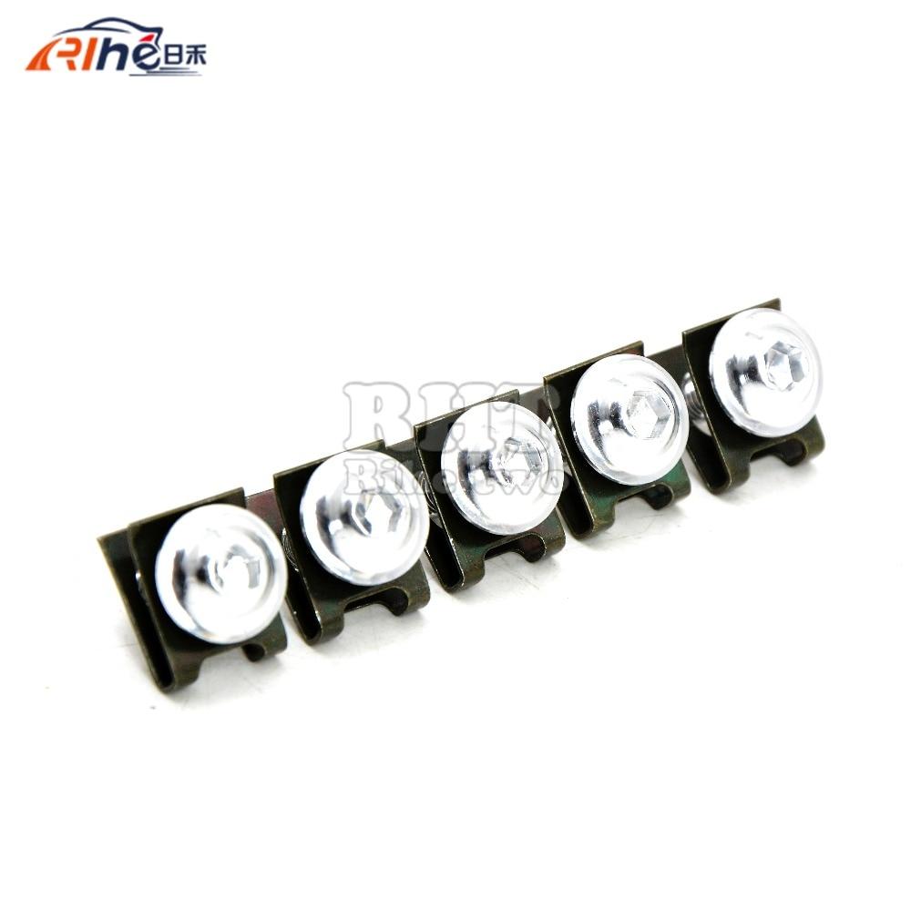 5 piezas 6 mm motocicleta accessrioes carenados tornillos para el - Accesorios y repuestos para motocicletas - foto 3