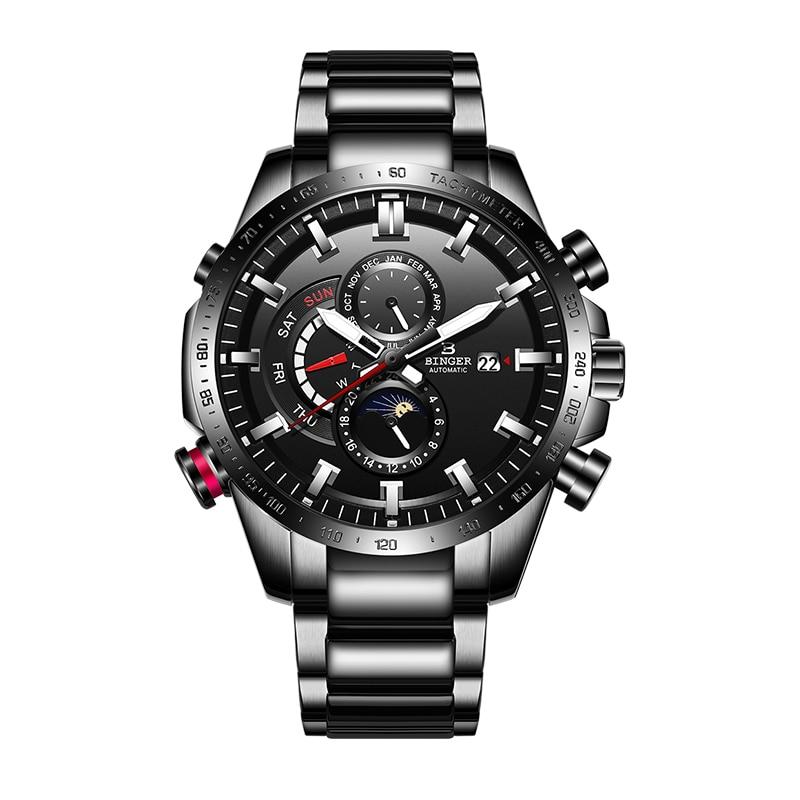 42 мм Corgeut стерильные часы с сапфировым стеклом военные мужские автоматические Роскошные Брендовые спортивные дизайнерские автоматические ... - 5