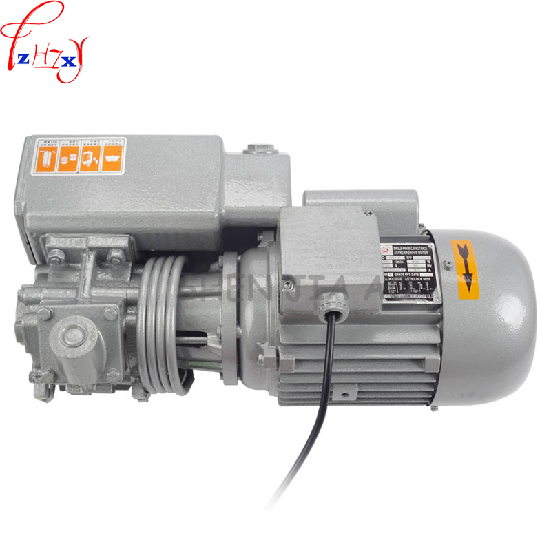 1pc 220/380V XD 020 rotary vane vacuum pumps, vacuum pumps, suction pump, vacuum machine motor 0.75kw/0.9kw