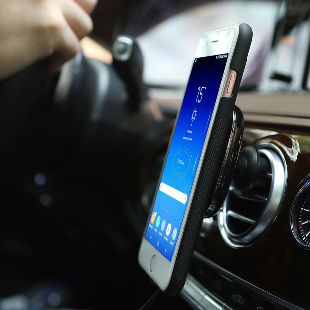Snabb Qi trådlös billaddare för iPhone XS MAX XR X 8 Plus Nillkin - Reservdelar och tillbehör för mobiltelefoner - Foto 5