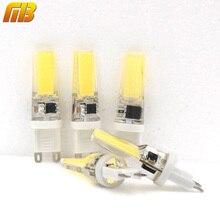 Ming&Ben 5pcs G9 LED Bulb Dimmable Corn Spotlight AC 220V 230V 240V 3W 360 Beam Angle COB Chip Replace 30/40W Halogen Lamp