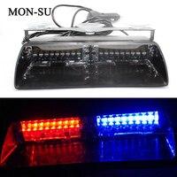 MON SU High Power Led Car Strobe Light S2 Federal Signal Lamp Auto Warn Bulbs Police Emergency Lights 12V Car Front Lamp
