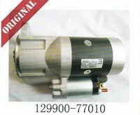 Linde Forklift Part Motor Starter 129900 77010 Yanmar Engine Part 1283 Diesel Trucks Original Service Spare