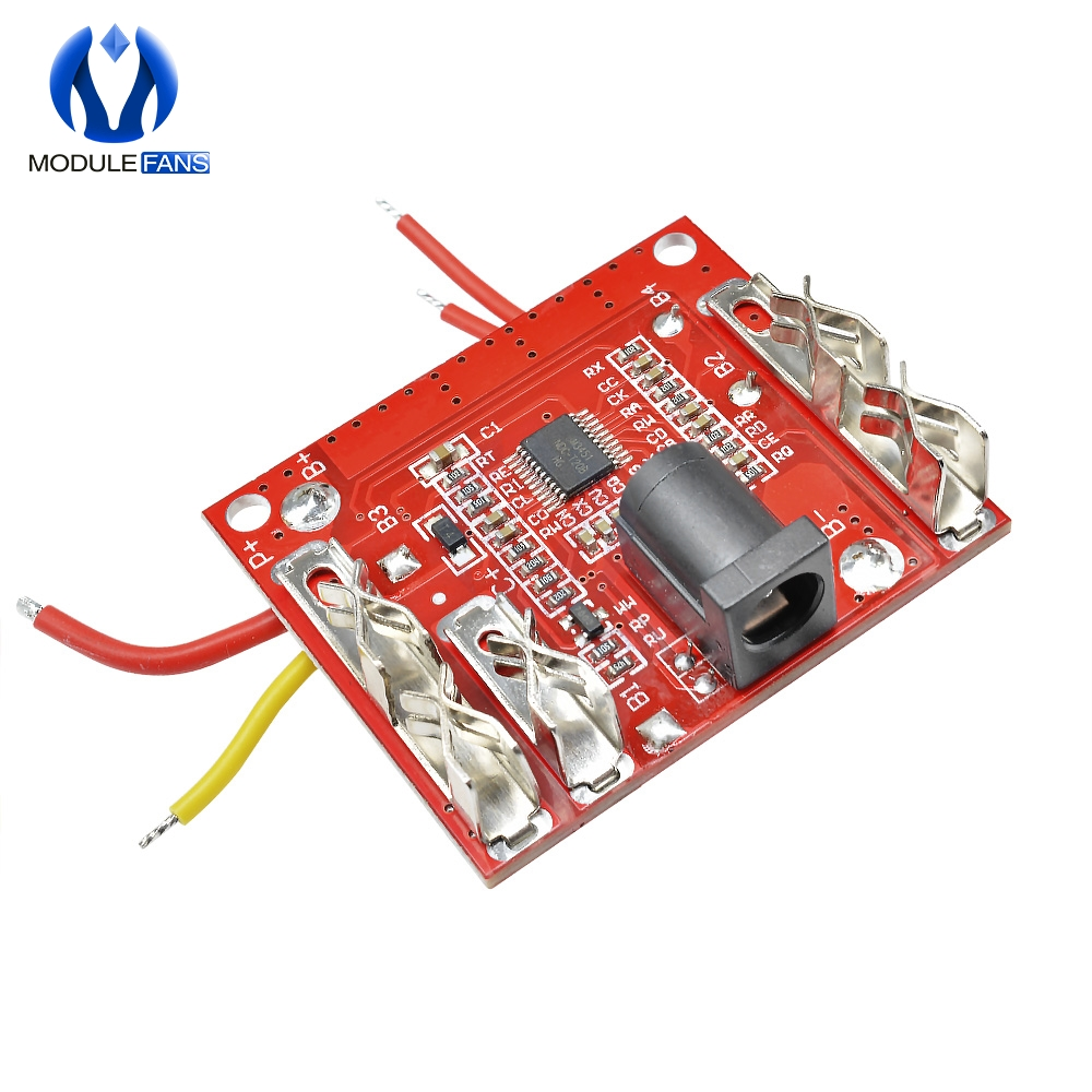 5S 5 Serial 18V 21V 20A Li-Ion Lithium Battery Charging Protection Board Module Pack Circuit Board BMS Module For Power Tools