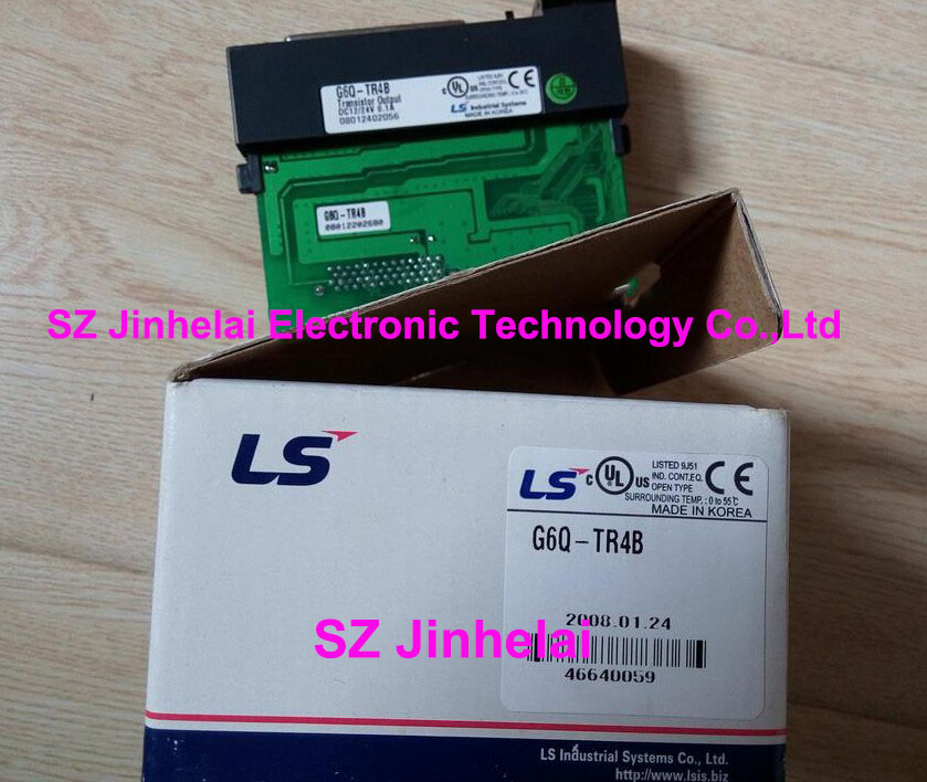 100% New and original  G6Q-TR4B  LS(LG) PLC controller 100% new and original g6i d22a ls lg plc input module