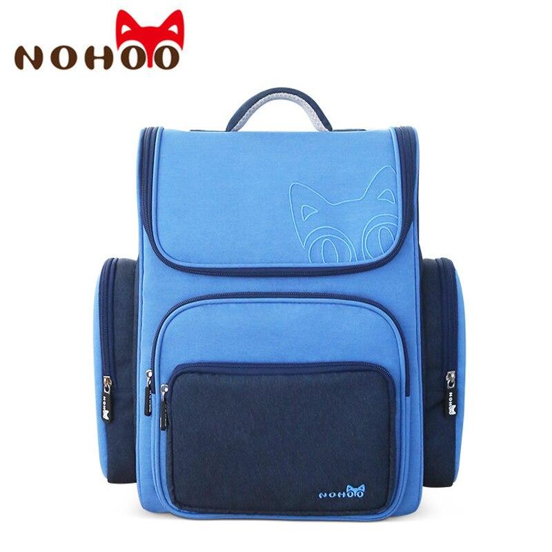 NOHOO Children s Backpack Kids Cartoon School Bags For Boys School Backpack For Girls Orthopedic Schoolbag