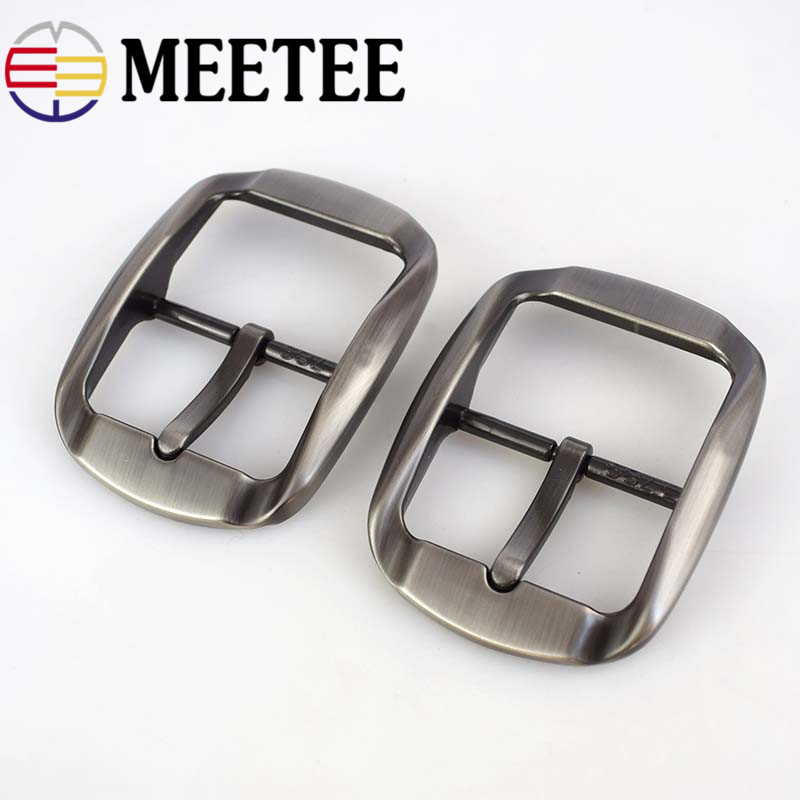 1pc/2pcs 40mm Metal Belt Buckle DIY Jean Accessories For Clothing Sewing Leather Craft Hardware KY304