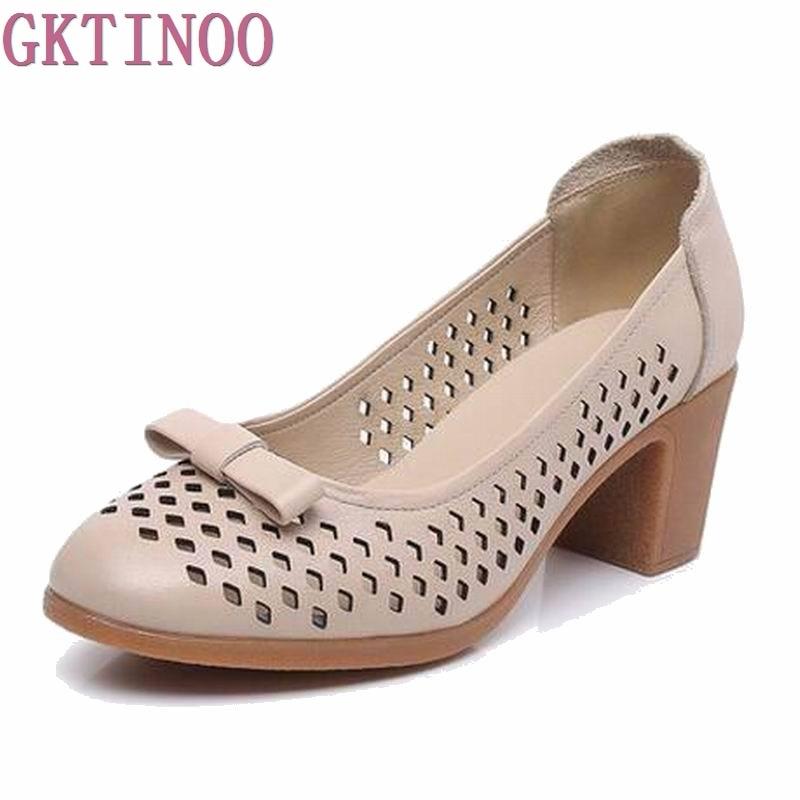 2019 summer female sandals genuine leather women sandals cowhide high heel women s sandals