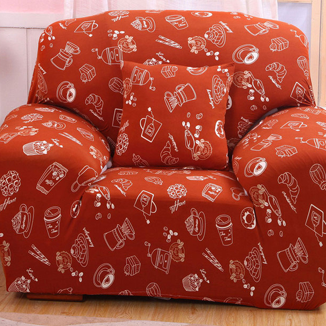 Sleep Sofa Orange Furniture Throw Covers For Sofa Warm Family Universal  Couch Covers Designer Stretch Slipcovers
