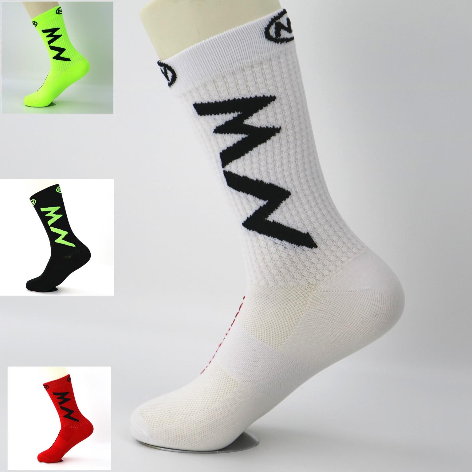 NW спортивные носки для езды на велосипеде, баскетбола, мужские и женские носки для бега, альпинизма, кемпинга, пешего туризма, дышащие носки ...