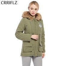 eb3b54ffa4 Kobiety Parka moda jesień ciepłe kurtki zimowe futrzany kołnierz damski  płaszcze długie parki bluzy biurowe Lady