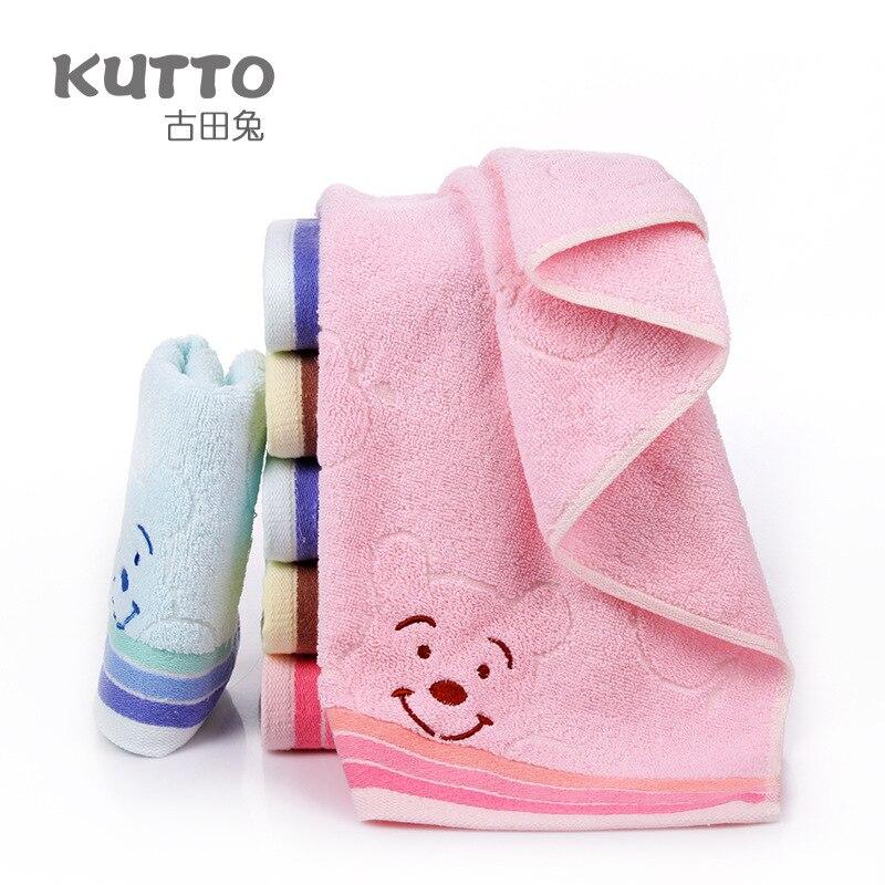 New Arrival Attractive Children Face Towels Kids Cartoon Baby Towels 75x34cm