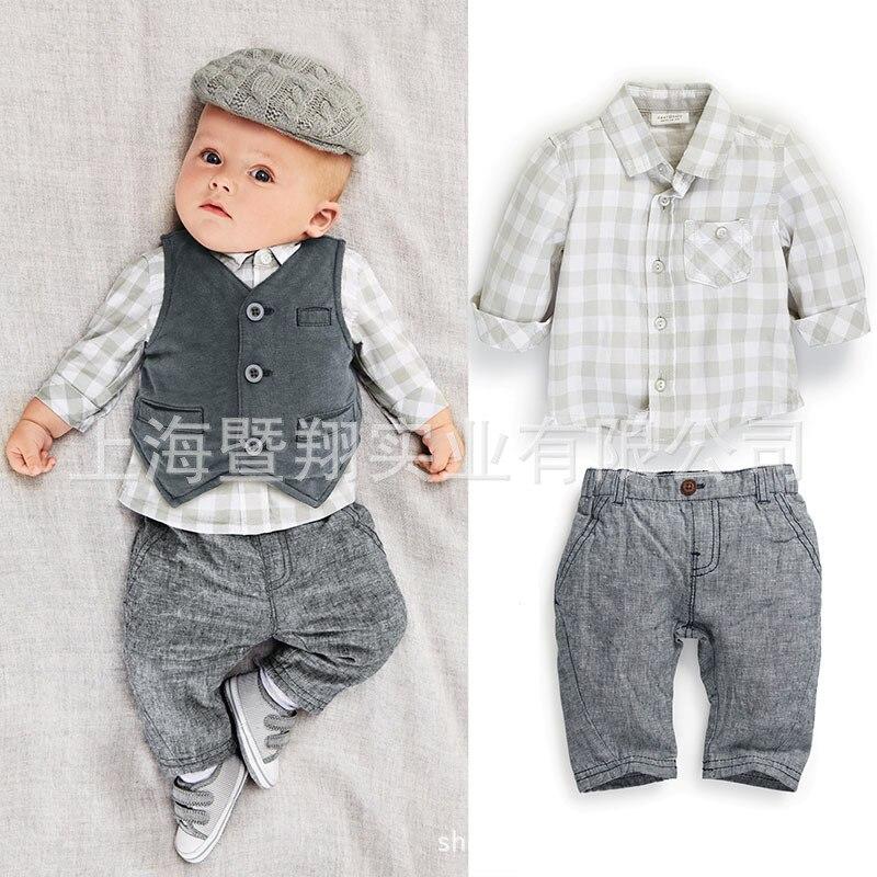 ba47d54a1101 best quality 0be5b f467c hot sale toddler baby boys dress coat shirt ...