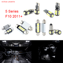 19 unids LED Canbus Luces Interiores Paquete Kit Para BMW Serie 5 F10 (2011 +)