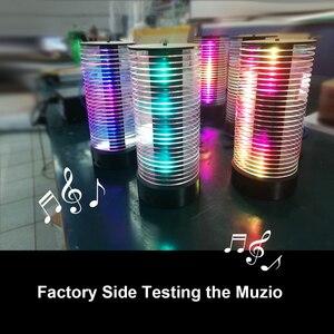 Image 3 - DJ LED Automotive otoczenia lampa muzyka, interaktywne lampa Audio rytm akrylowe lampka nocna wielu animacja MUZIO