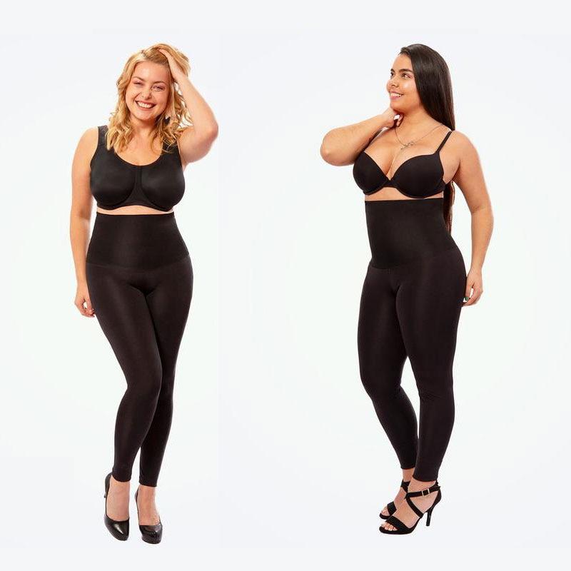 Anti Cellulite Plus Size 4XL High Waist Shaping Compression Leggings For Women Body Shaper Fitness Push Up Black Leggings Summer