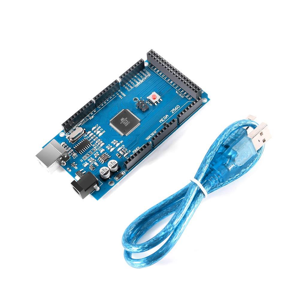 Cable USB para Mega2560 Junta ATMEGA16U2 ATmega2560-16AU CALIENTE