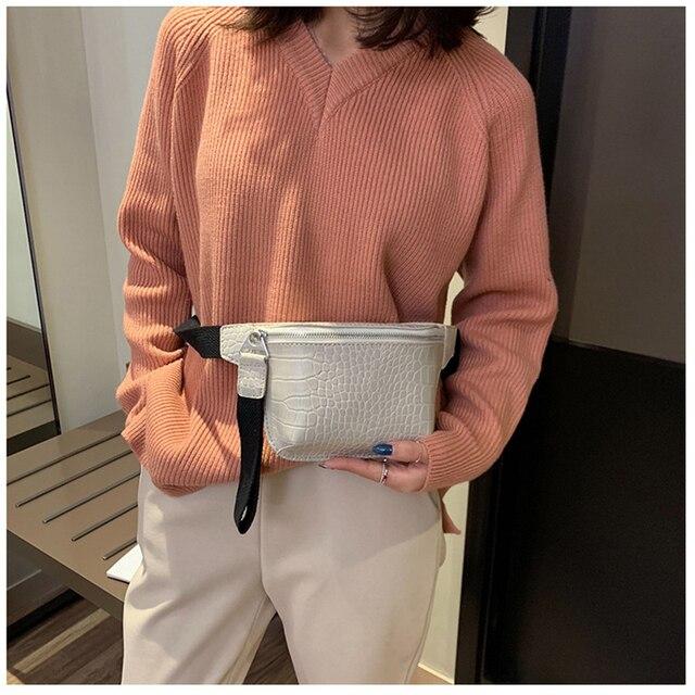 CROWDALE Women bag crocodile multicolor messenger chest bag clutch female Pu leather handbag cross body bag Fashion high quality 2