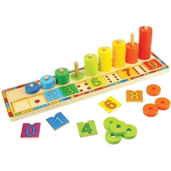 Bigjigs Toys BJT531 Learn to Count Toy