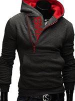 2018 Lol 6XL Moleton Masculino Assassins Creed Hoodies Men Sweatshirt Tracksuit Male Zipper Hooded Jacket Casual